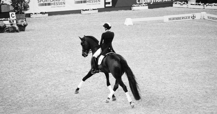 Frankfurter Festhallen Turnier mit Ingrid Klimke